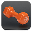 icon of dumbbell weights
