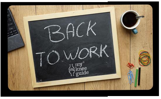 Return to Work written in chalk on blackboard