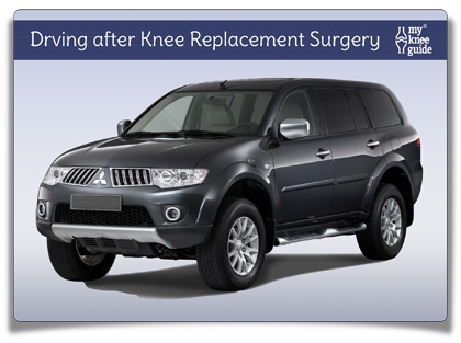 return to driving in car after knee replacement