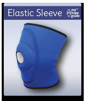 elastic sleeve knee brace