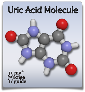 Uric Acid Molecule in gout